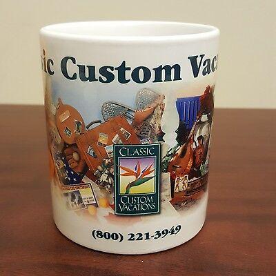 Classic Custom Vacations Advertising Travel Coffee Mug