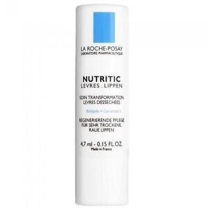 LA ROCHE POSAY Nutritic Lip Balm Very Dry Lips Transforming Care 4,7ml US SELLER