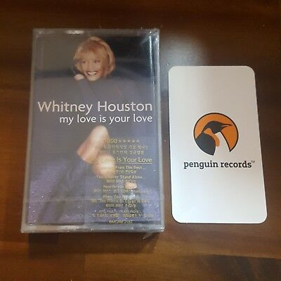 Whitney Houston - My Love Is Your Love CASSETTE TAPE KOREA EDITION SEALED