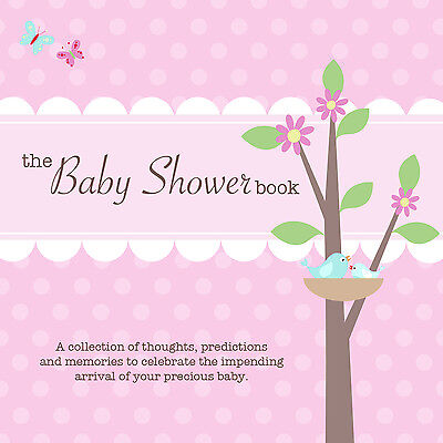 weight /& birth date~ Pink names ~THE BABY SHOWER BOOK~ Guests predict gender