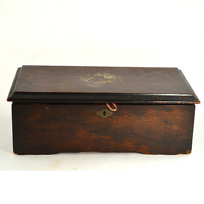 Antique Reuge music box great working condition mechanism clean this fall