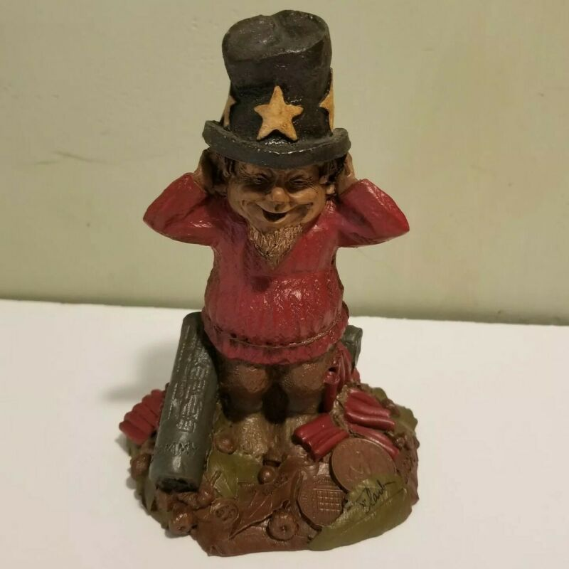 Tom Clark Gnome SAMMY (Retired) 1985 Cairn Studio #1098 Edition 69 SIGNED