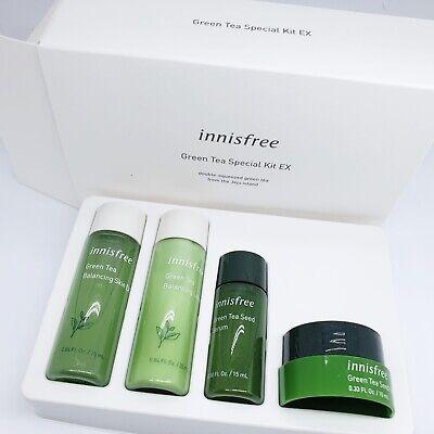 INNISFREE Green Tea kit EX 4 Items Samples Travel Set Korean Cosmetic