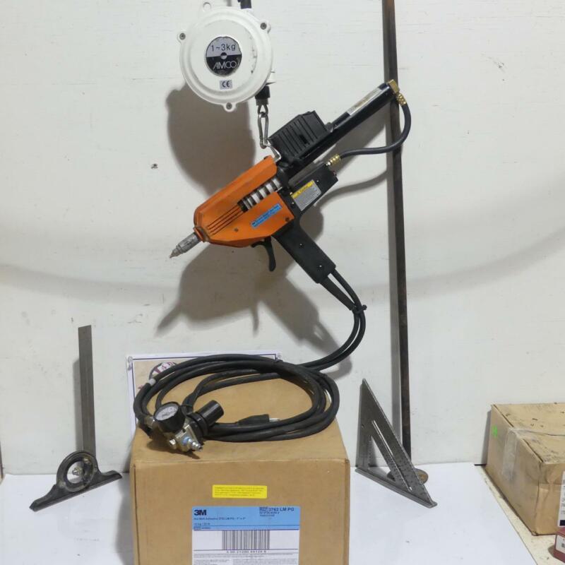 3M Hot Melt Gun PG II LT, Amico Tool Balancer, Case Glue & Air Regulator