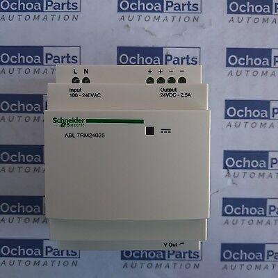 Schneider Abl7rm24025 Regulated Smps Auto Reset 1 Or 2-p 100-240 Vac 24v 2.5