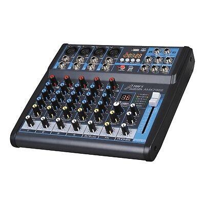 - Audio2000s AMX7322UBT 6-Ch. Audio Mixer Sound Board with USB & Bluetooth