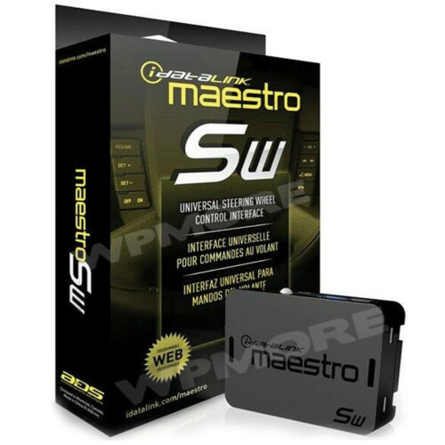 iDatalink Maestro SW ADS-MSW Universal Steering Wheel Control Interface Adapter
