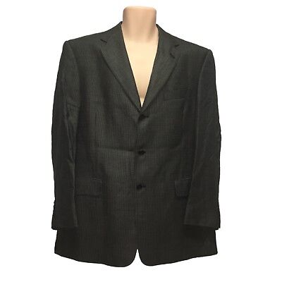 Hart Schaffner Marx for Nordstrom Men's 3-Buttons Blazer sz 42R Green , used for sale  USA