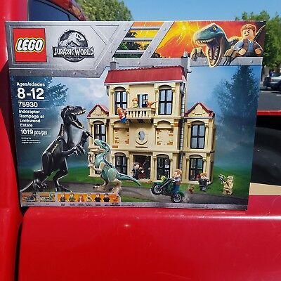 LEGO Jurassic World Indoraptor Rampage  Lockwood Estate 75930~SHIPS NOW IN HAND~