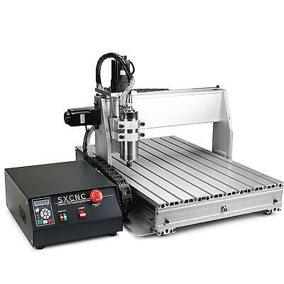 Usb 4 Axis Cnc 6040z Router Engraver Wood Drillmilling Machine With Controller