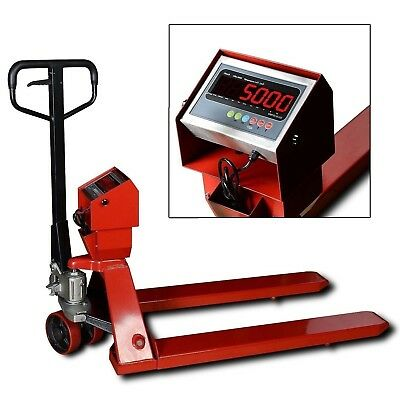 Industrial Warehouse Pallet Jack Scale With 5000 Lbs X 1 Lb