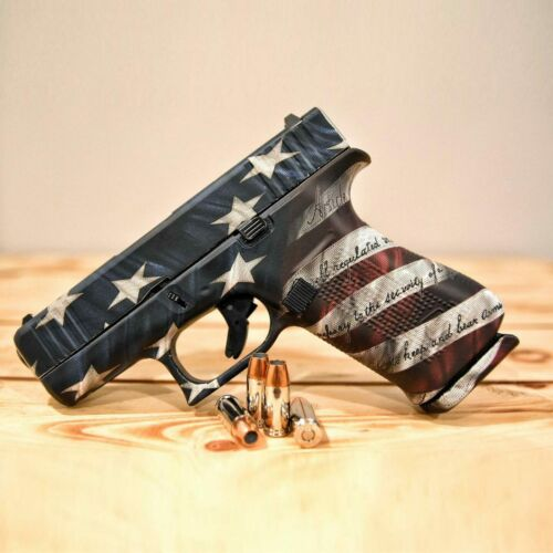 GunSkins Pistol Skin Camo Wrap Universal DIY Vinyl Kit for Any Handgun