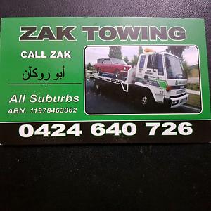 Zak towing truck service Preston Darebin Area Preview