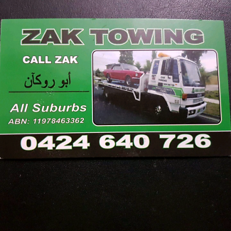 All tilt tray towing  truck service