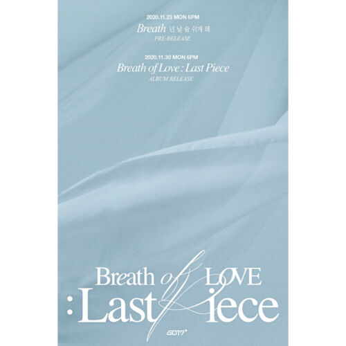 [GOT7] 4th album - Breath of Love : Last Piece / New, Sealed / Member Option