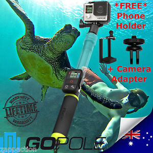 GoPole Evo for GoPro Hero 4 3+ 3 2 Drift Contour Camera Floaty Extendable Pole