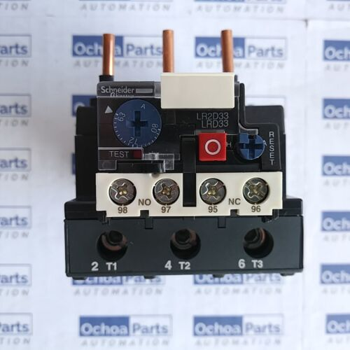 SCHNEIDER ELECTRIC LRD3363 THERMAL OVERLOAD RELAY 63-80A CLASS 10A