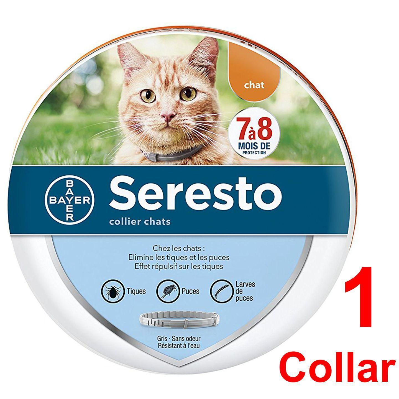 Купить Bayer Seresto - Seresto Cat Flea And Tick Collar For Cat 10 Weeks Or Over