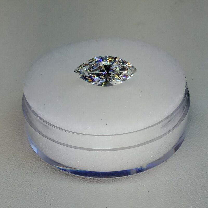 Fabulite strontium titanate ClearAntique/Vintage gemstone.new antique stock fb93