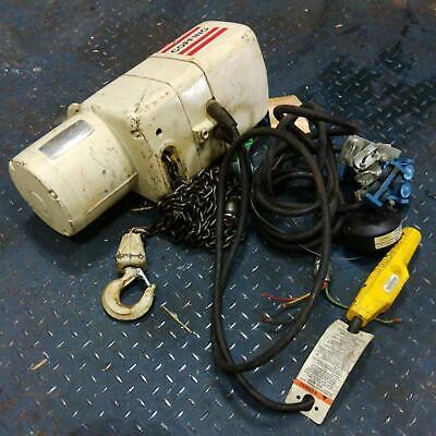 Coffing 14-ton Electric Chain Hoist Model Elc0516-3