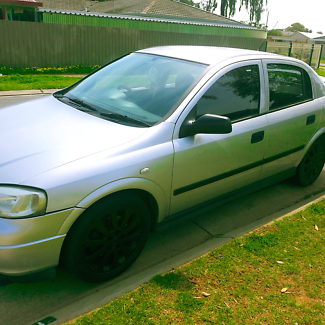 2001 holden manual astra