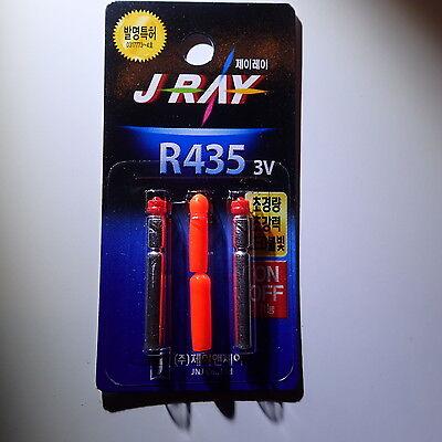 LED KNICKLICHT J RAY R435 4mmx 35mm ROT  4 er Sparpack