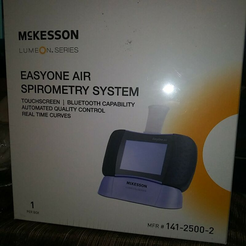 McKesson Easy One Air Spirometry System Mfr# 141-2500-2