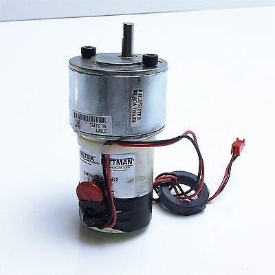 Ametek Pittman Dc Gear Motor 38.3 1 Ratio 24v Gm9433l218-r2