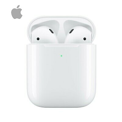 Apple AirPods 2nd Generation and Wireless Charging Case Air Pods 2 genuine NEW