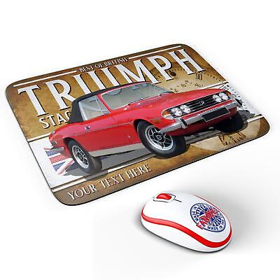 Personalised Morris Minor 1000 Classic Car Mouse Mat Pad Computer Dad Gift CL38