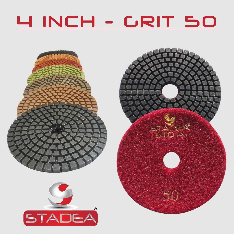 4 Quot Diamond Polishing Pads 5 Sets 35 Pcs Granite Marble Ebay