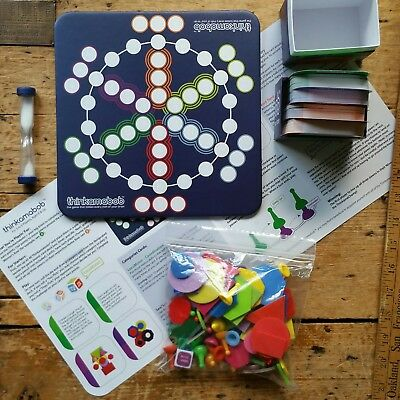 OOP THINKAMABOB FUN NERD FAMILY Critical Thinking BOARD GAME Marbles Brain Store