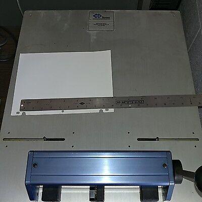 Ryobi Plate Punch - Hamada Plate Punch - Heidelberg Printmaster 46 Plate Punch