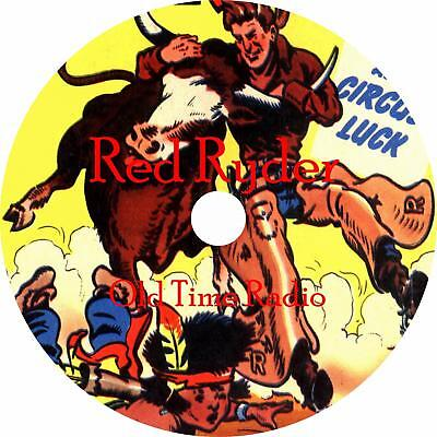 Red Ryder Western Old Time Radio Show OTR 61 Episodes on 1 MP3 CD Free (Old Time Radio Westerns)