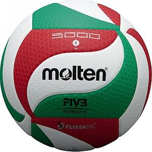 Molten V5M5000 Official Volleyball PU Leather FIVB APPROVED