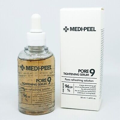 Medi Peel Pore 9 Tightening Serum 50ml Anti Wrinkle Moisture Soothing K-Beauty