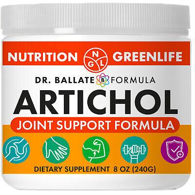 Artichol Joint Support Formula Extra Strength Glucosamine Chondroitin MSM 240G Glucosamine Chondroitin Powder