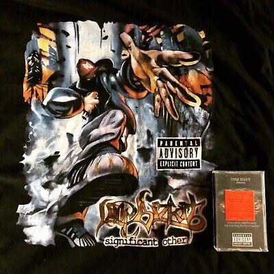 [Rare VTG] Limp Bizkit Shirt & Chocolate Starfish Cassette / Korn Linkin Park DJ