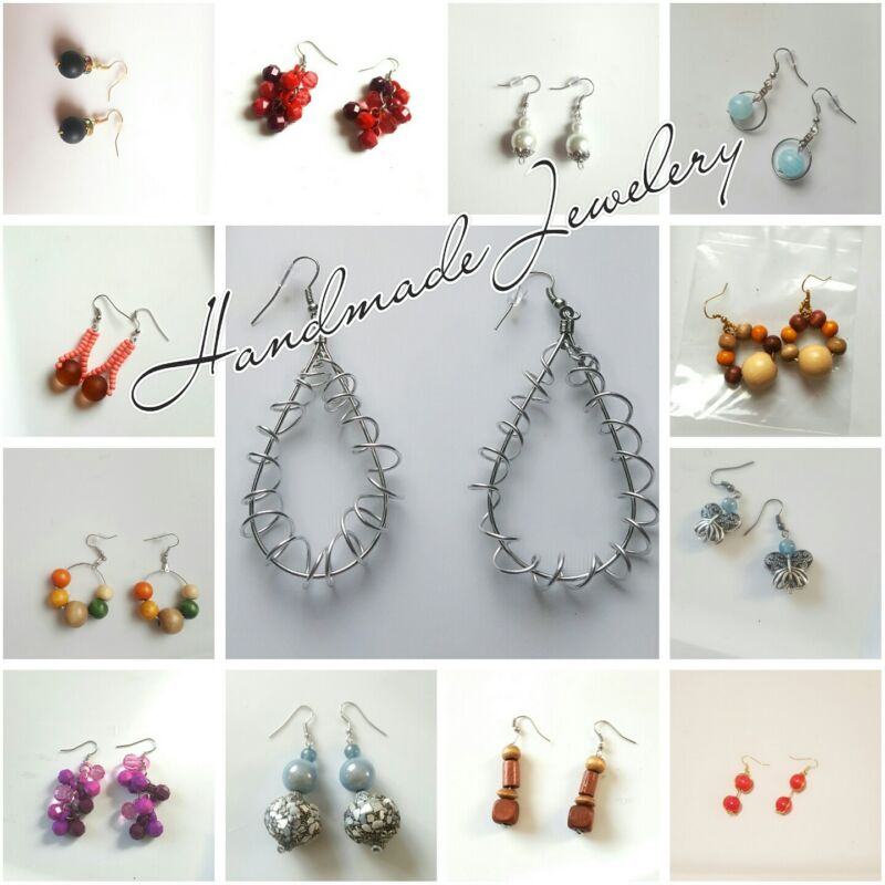 Handmade Jewelery. Unique styles. Various Types and Colors. All Occasions.