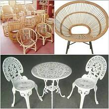 Pre loved rustic, wrought iron or Cane furniture Macksville Nambucca Area Preview