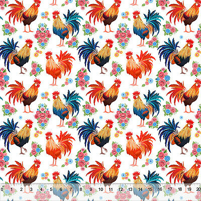 Rise & Shine Rooster - Home Decor Fabric Polyester 62