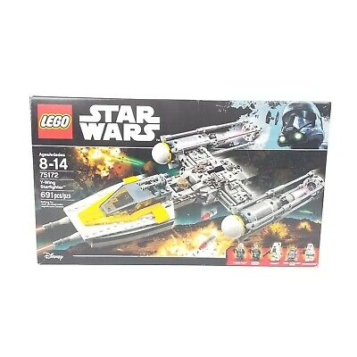 LEGO 75172 Star Wars Y-Wing Starfighter 100% Complete w/ manual, minifigs, box