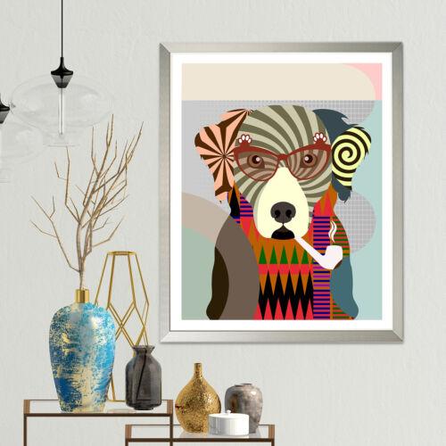 Chesapeake Bay Retriever Art Print Dog Lover Pet Gift Painting Wall Decoration