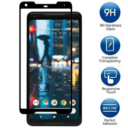 new style c9cb7 da1fc Details about for Google Pixel 2/2XL Screen Protector Tempered Glass / Full  Coverage