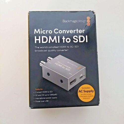 BMD Micro Converter HDMI to SDI with Power Supply [Open Box] - Stock in Miami