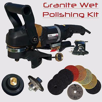 Stadea Granite Polishing Bullnose Tools Kit For Granite Countertop Demi Edge 38