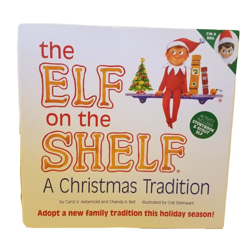 Elf On The Shelf Blue Eyed Boy New 2020 A Christmas Tradition Storybook/Scout