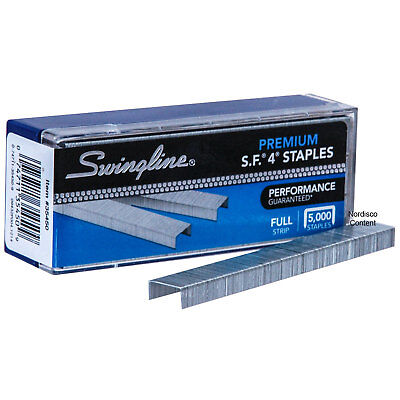 Swingline 35450 Sf4 Premium Staples Chisel Point Box Of 5000