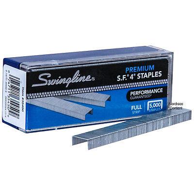 Swingline 35450 Sf4 Premium Staples Chisel Point Box Of 5000