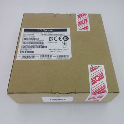 Lenovo 0a33988 External Dvd-Writer - Black - Dvd-Ram/±r/±r
